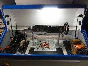 Turbo test środek maszyny
