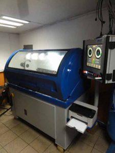 maszyna dozmiennej geometrii - Turbo Test, niebieska